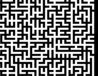 maze game in NOKIA